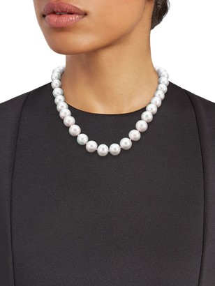 Tara Pearls Sterling Silver Freshwater Pearl Necklace