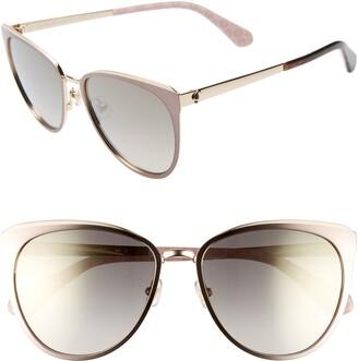 Kate Spade Jabreas 57mm Cat Eye Sunglasses