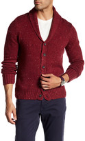 Original Penguin Shawl Collar Donegal Cardigan