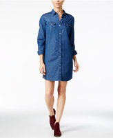 Maison Jules Chambray Shirtdress, Only at Macy's
