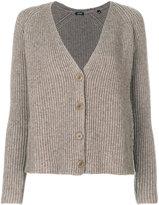 Aspesi button-down knitted cardigan