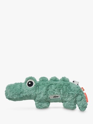 Done by Deer Crocodile Baby Soft Toy, Green