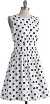 Emily And Fin Too Much Fun Dress in Black Dots