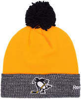 Reebok Pittsburgh Penguins 2017 Stadium Series Goalie Pom Knit Hat