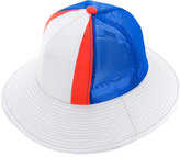 Facetasm panelled bucket hat - men - Nylon/Rexcell - One Size
