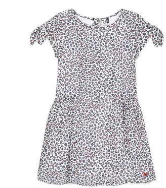 3 Pommes Leopard Print Dress, 3-4 Years