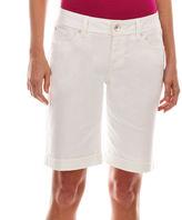 JCPenney A.N.A a.n.a Denim Bermuda Shorts - Petite