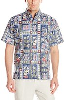 Reyn Spooner Men's Summer Commemorative 2016 Button-Front Shirt