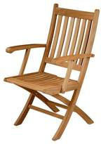 Barlow Tyrie Ascot Teak Folding Carver Chair - Default Title