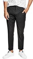 GUESS Men's Alameda Slim-Tapered Crop Suit Pants