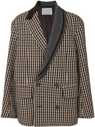 Kolor Oversized Check Jacket
