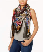 INC International Concepts Oversized Beaded Floral Scarf, Created for Macy's
