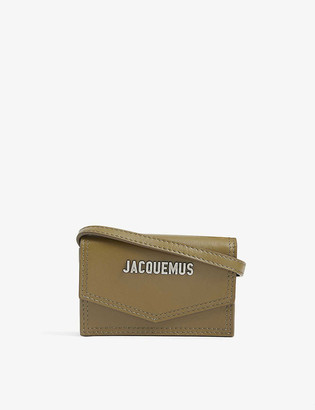 Jacquemus Le Porte leather mini cross-body bag