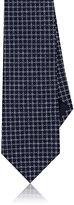 Giorgio Armani Men's Square-Pattern Silk Necktie