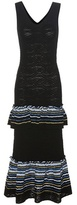 Peter Pilotto Knitted jacquard dress