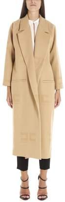 Elisabetta Franchi Belted Trench Coat