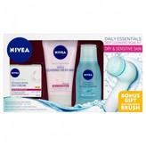 Nivea Daily Essentials Deep Cleansing Facial Kit for Dry & Sensiti 1 Kit