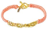 "Wakami Women's Bracelet Single Strand - Pink (7.5"")"