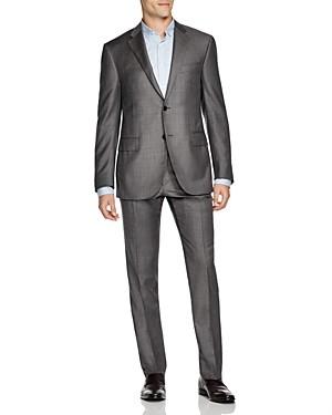 Corneliani Academy Regular Fit Sharkskin Suit