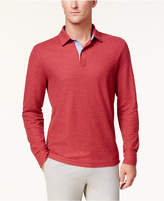 Club Room Men's Long-Sleeve Performance Polo, Created for Macy's