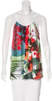 Clover Canyon Sleeveless Printed Top w/ Tags