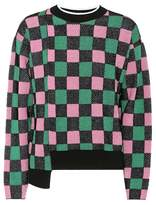 Marni Cotton-blend checked sweater