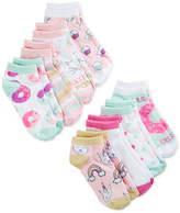 Berkshire 8-Pk. Graphic-Print Socks, Little Girls & Big Girls