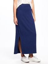 Old Navy Fitted Jersey Maxi Skirt for Women