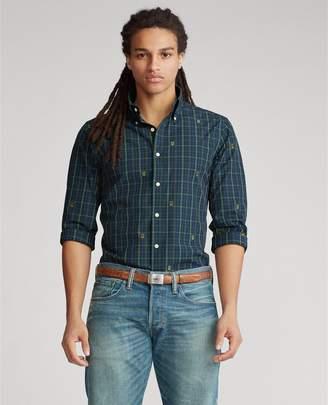 Ralph Lauren Slim Fit Tartan Crest Shirt