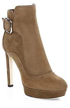 Jimmy Choo Women's Britney Suede Ankle Boots