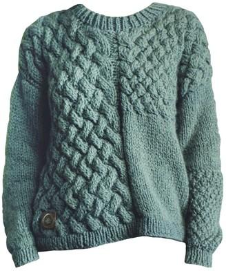 The Knotty Ones Heartbreaker Knit In Moss Green