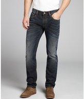 Cult of Individuality 18 month smokey blue denim slim 'Rocker' straight leg jeans