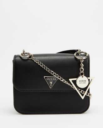 GUESS East End Mini Cross-Body Flap Bag