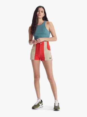 Hammies Women's Two-Tone Short - Red/Sand