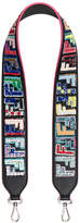 Fendi FF Embroidered Bag Strap