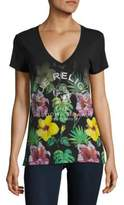 True Religion Tropical Floral Tee