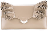 Jimmy Choo Isabella clutch - women - Calf Leather - One Size