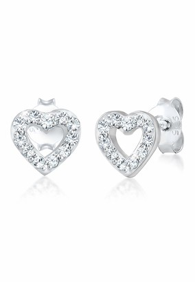 Elli Women's Silver Stud Earrings 304421818