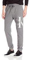 Calvin Klein Jeans Men's Reissue Ck Logo Drawstring Jogger Pant