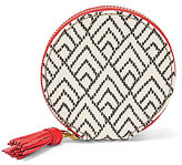 Fossil Keely Tasseled Geometric Zip Coin Case