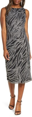 Pisarro Nights Sequin Sleeveless Midi Dress