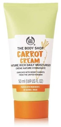 The Body Shop Carrot Cream Nature Rich Daily Moisturizer