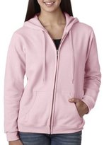 Gildan Women's Full-Zip Heavy Blend Hooded Pocket Sweatshirt