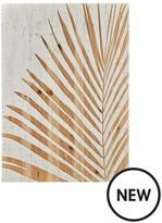 Graham & Brown Palm Leaf Wood Panel