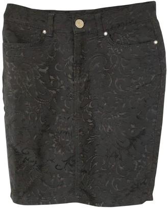 Blumarine Black Cotton - elasthane Skirt for Women