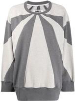 MM6 MAISON MARGIELA colour-block sweatshirt