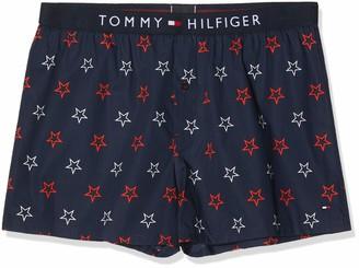 Tommy Hilfiger Men's Woven Boxer Print Shorts