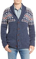Lucky Brand Lodge Lambswool Blend Cardigan