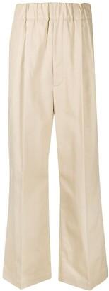 Jejia High-Waisted Wide-Leg Trousers