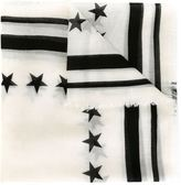 Givenchy '17' scarf
